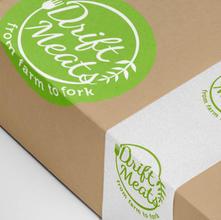 Drift Meats - Concept Design, Logo & Packaging