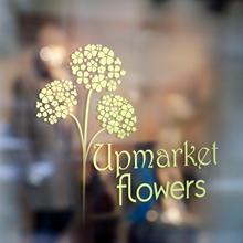 Upmarket Flowers - Branding & Brochure Design