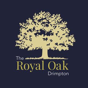 Royal Oak Pub logo design