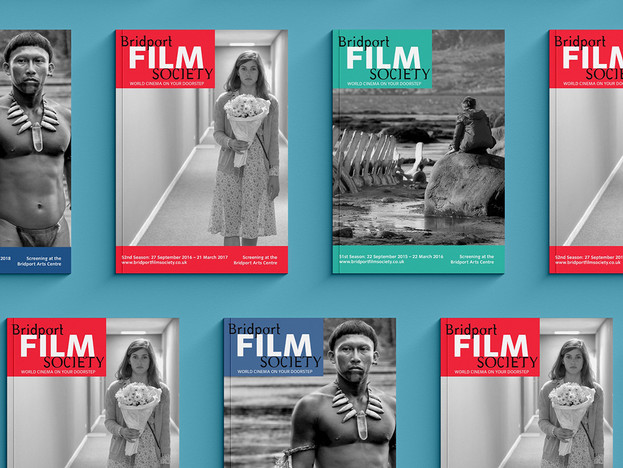 Display of Bridport Film Society Posters