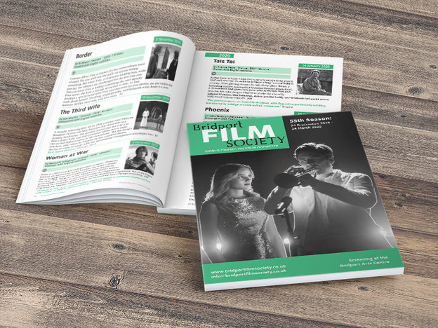 A Bridport Film Society brochure