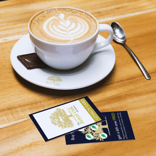 Loyalty Card Design with loyalty stamps