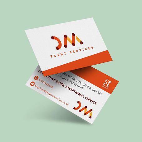 DNM Services - Stationery & Logo Design