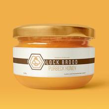 Lock Brood Honey - Logo & Packaging Design