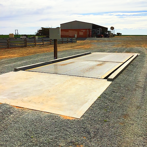 WEIGH BRIDGE FOR ROAD TRAINS