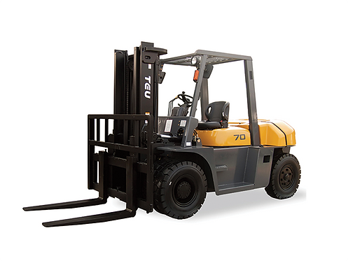 TEU 5.0T - 10.0T DIESEL / GAS FORKLIFTS