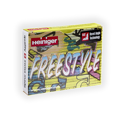 Heiniger Freestyle Combs - 96mm wide; long bevel