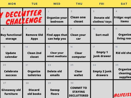 30- Day Declutter Challenge