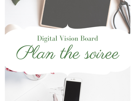 How to Plan a Digital Vision Board Party