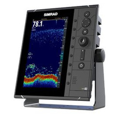 Simrad S2009 sonar diaplay