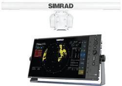 R3016 display with 25KW  HD radar