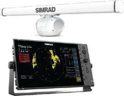 R3016 display with HALO6 radar