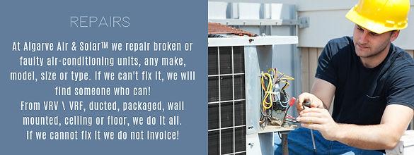 airconditioning repairs algarve