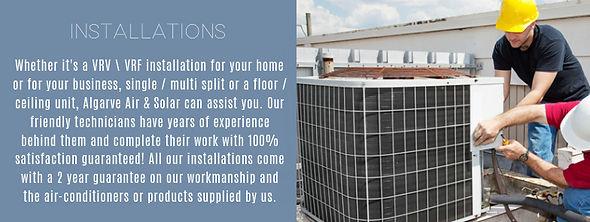 airconditioning installations algarve