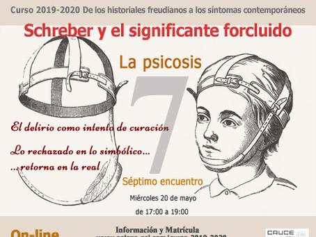Séptimo encuentro del Curso Los Fundamentos del Psicoanálisis en la Clínica Actual