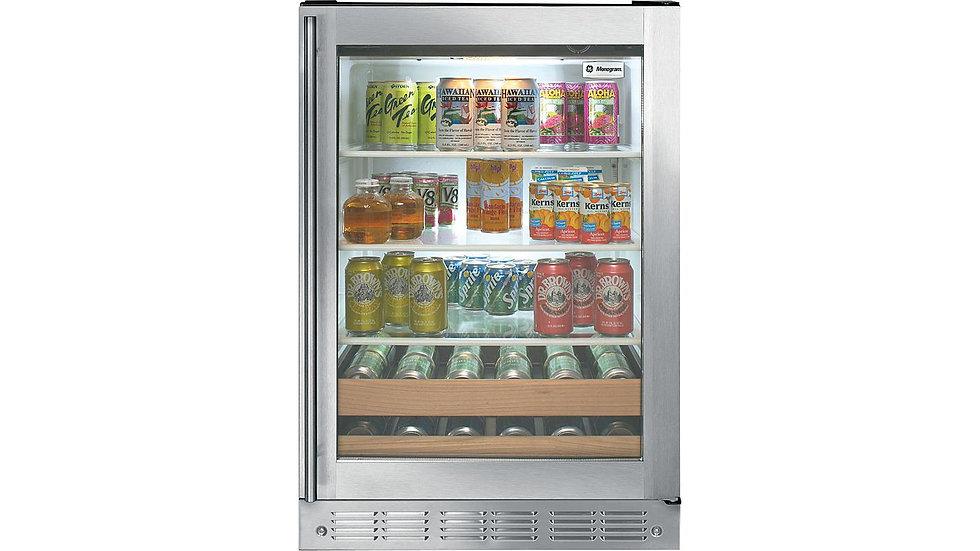 奇異GE 數位觸控式美式紅酒飲料櫃 | ZDBR240PBS