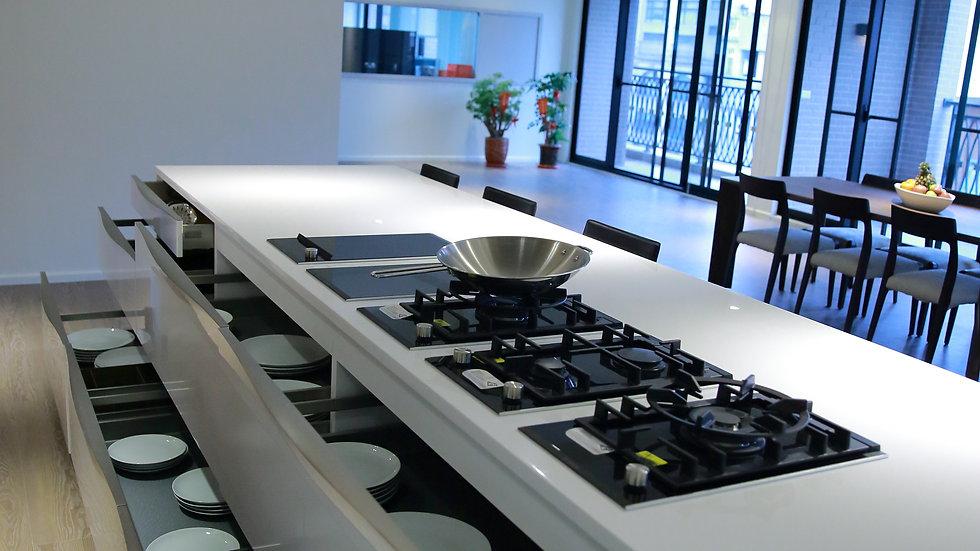 德國原裝系統廚具︱中島櫃︱抽屜櫃︱收納櫃︱K8