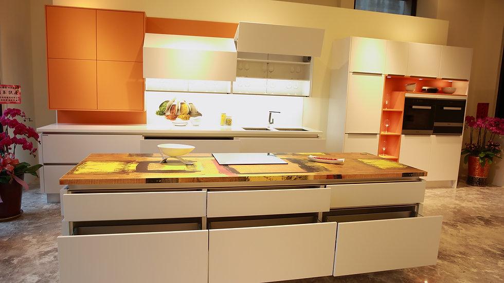 德國原裝系統廚具︱系統櫃 ︱中島櫃︱ K1