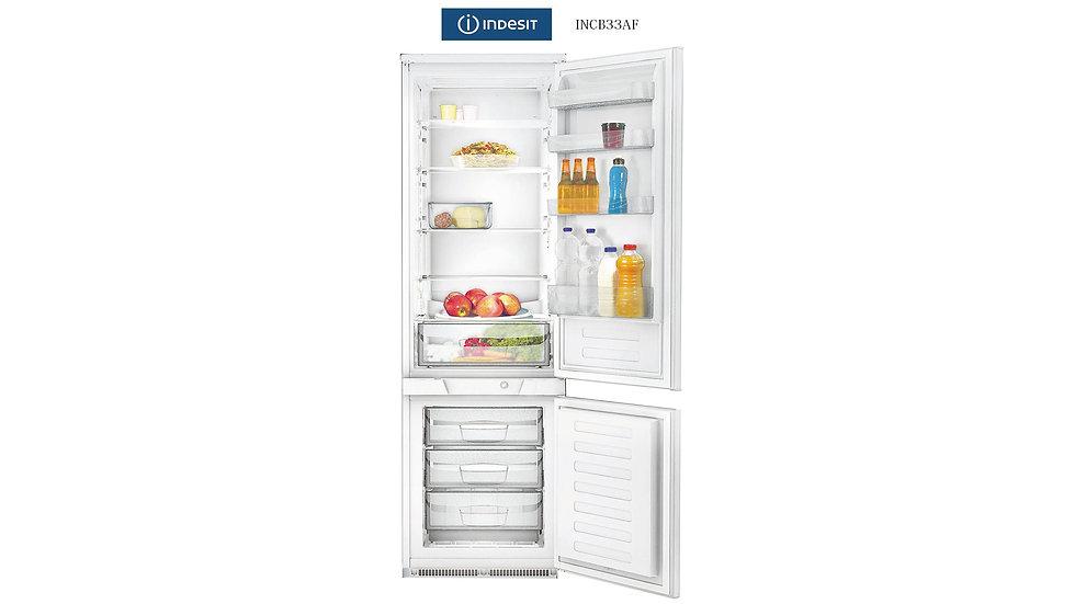 Indesit 全崁式冰箱  | INCB33AF