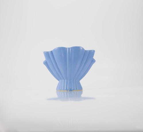 Im A Matte Blue Bauer Vase