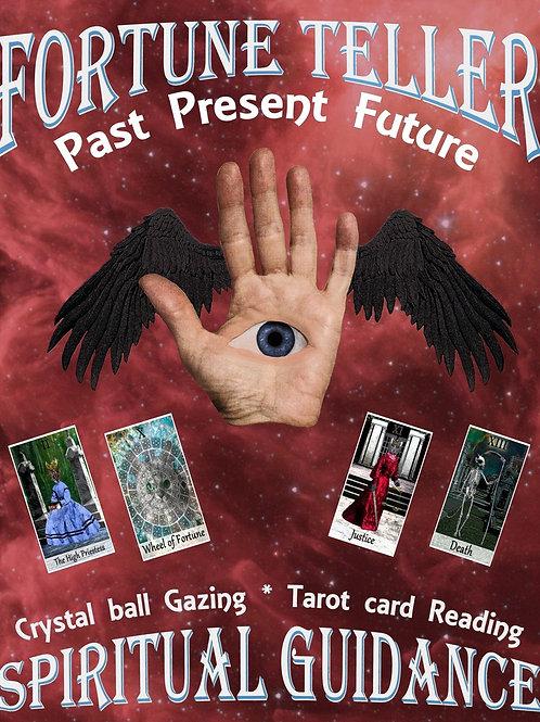 Fortune Teller Tarot Card Reader Ad