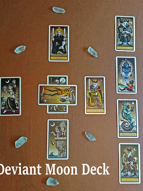 Celtic Cross Tarot Reading - Deviant Moon