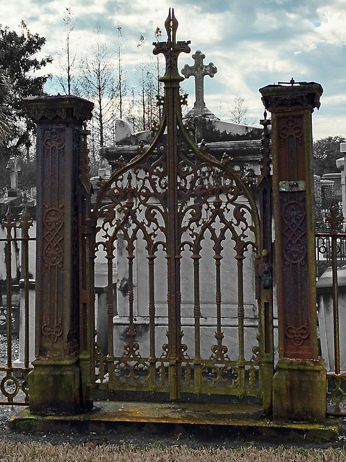 Celtic Spirit World Gateway in Cypress Grove Cemetery