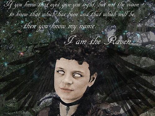 I am the raven