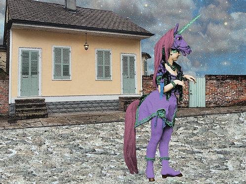 Ziegfeld Follies Dancer play Pony in the French Quarter