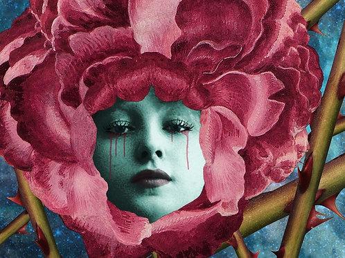 Evelyn Nesbit as Red Rose Beauty