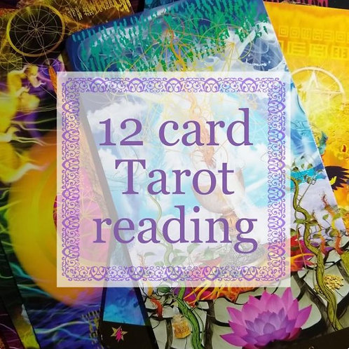 12 Card Tarot Reading