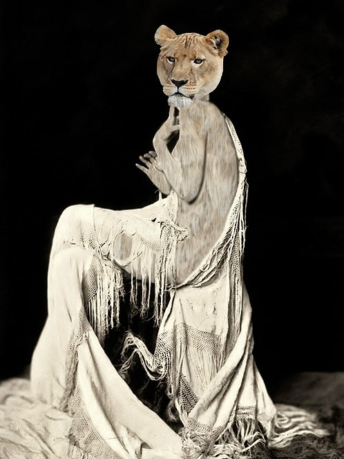 Lioness as Ziegfeld Follies Dancer