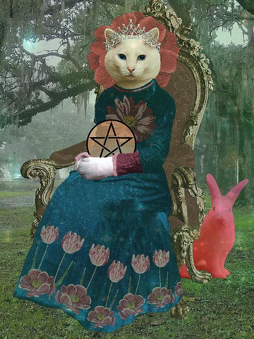 Queen of Pentacles