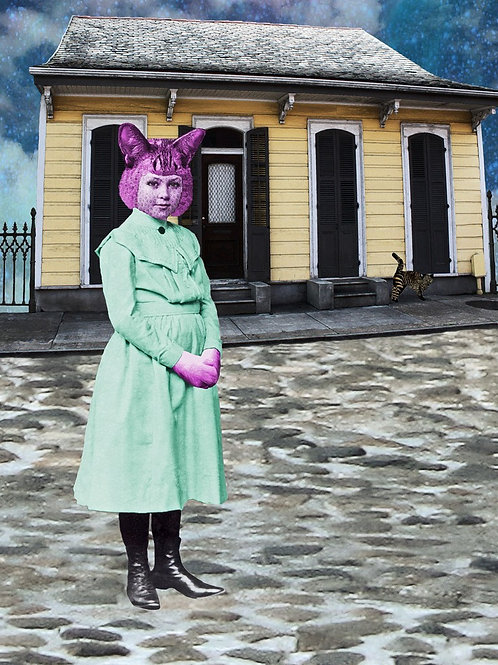 Cheshire Girl in New Orleans