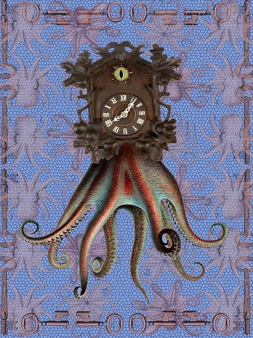 Clocktopus tells Steampunk Octopus Time