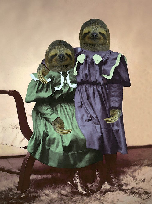 Sister Sloth Love for Sale