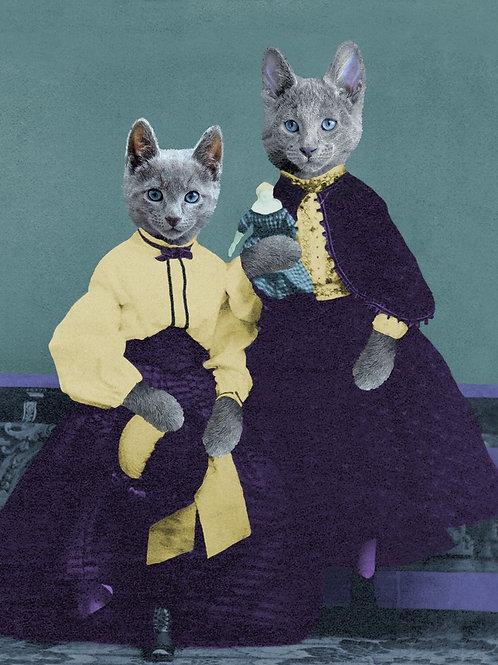 Too Russian Blue Kittens