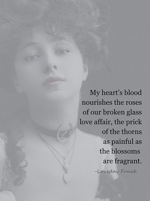 Evelyn Nesbit feels the Prick of the Thorns