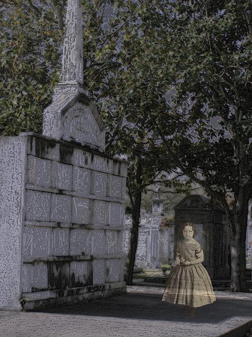 Ghost Girl haunts New Orleans graveyard
