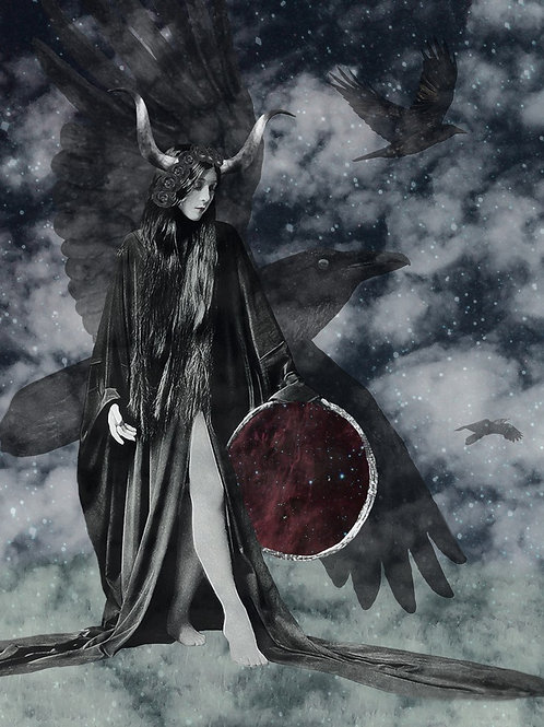 Morrigan the Queen of Crows