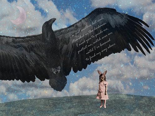 Raven Spirit Animal watch Over Me