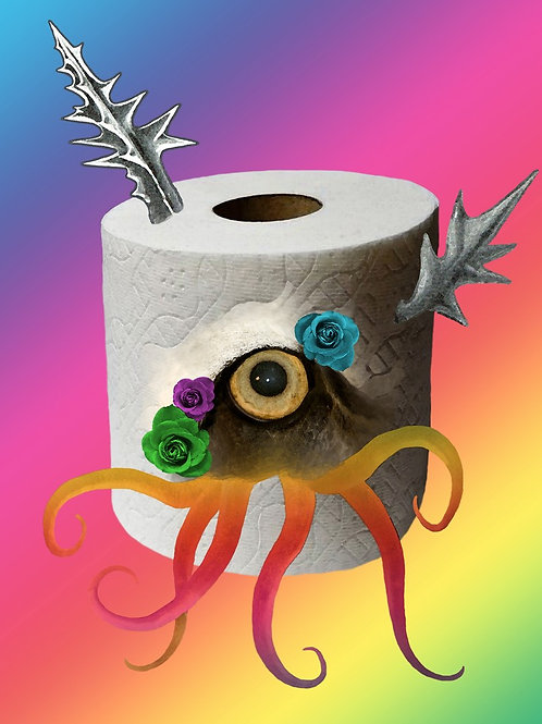The Toilet Paper - no words