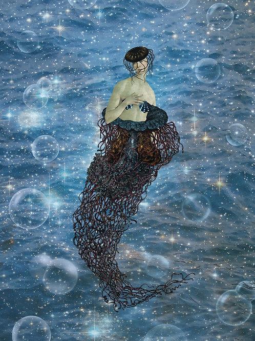 The Goddess Venus as Jellyfish Mermaid