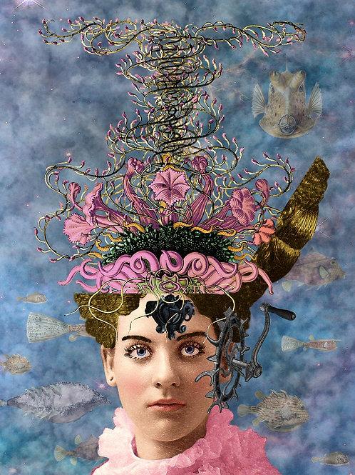 Steampunk Unfolding of a Victorian Goddess