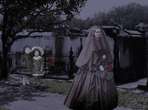 New Orleans Widow mourns Ghost Children
