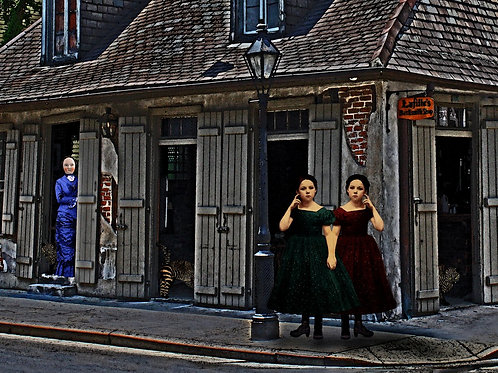 Lafitte Sisters at the Blacksmiths Shop