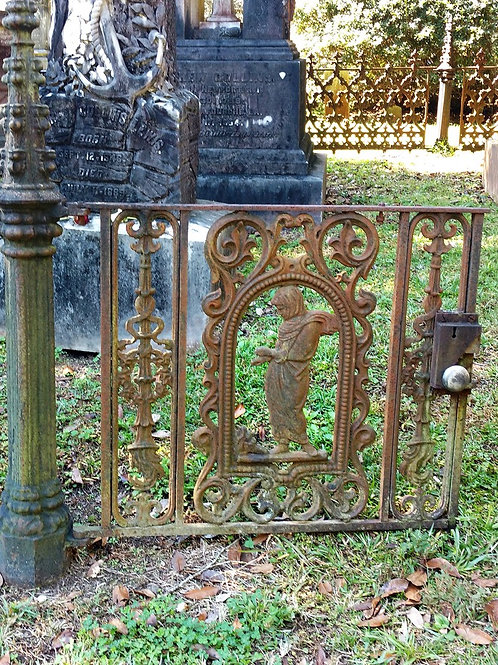 View of Graveyard Plot Iron Magick Monk Gateway