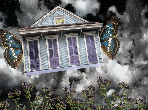 Flight of the Butterfly Cottage Fairy Tale New Orleans