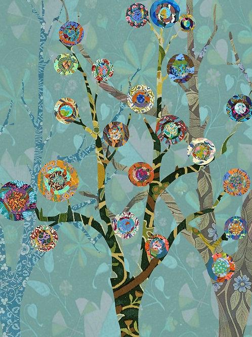 Trees a la Kandinsky
