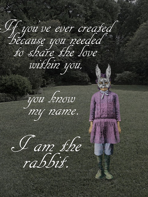 I am the rabbit